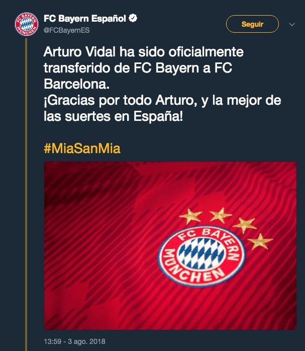 Arturo Vidal, Fichaje, Oficial, Barcelona
