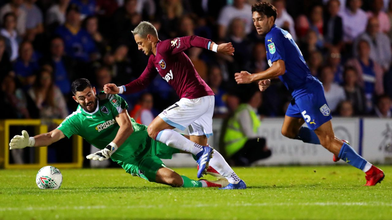 Chicharito Gol West Ham Video Los Pleyers