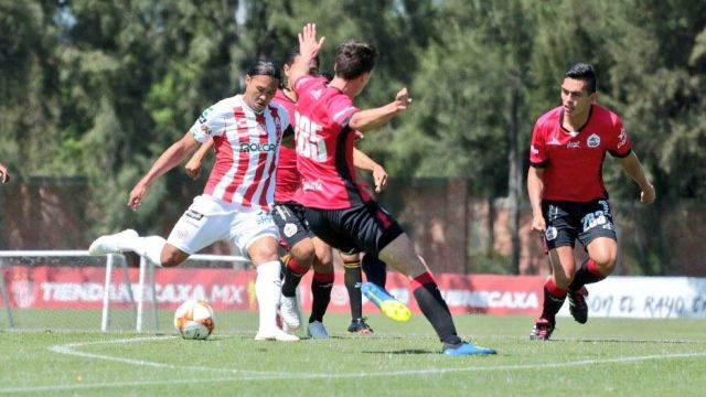 Gullit Peña Reaparece Sub-20 Necaxa Goles