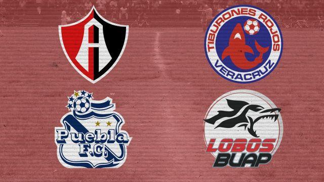Equipos Liga Mx, Mediocres, Atlas, Veracruz, Puebla, Lobos Buap
