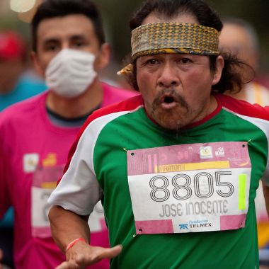 App CDMX Maratón Correr Competencia Seguir