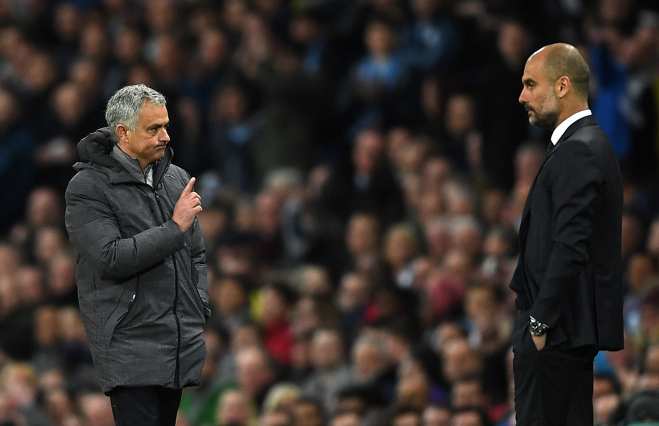 José Mourinho, Pep Guardiola, Documental Manchester City, Irrespetuoso