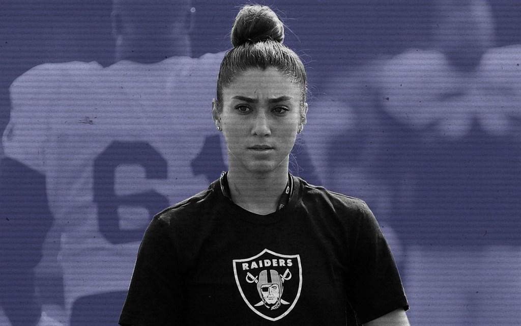 Kelsey Martínez, Raiders, Entrenadora, NFL