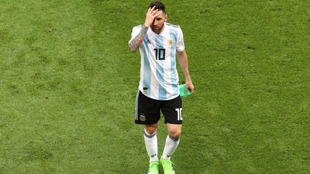 Leo Messi, Dirigente Palestina, Jibril Rajoub, FIFA