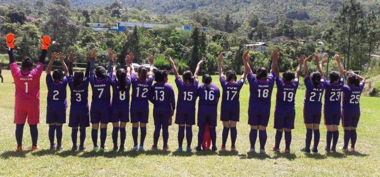 Primer Equipo Futbol Mujeres Mixteca Oaxaca