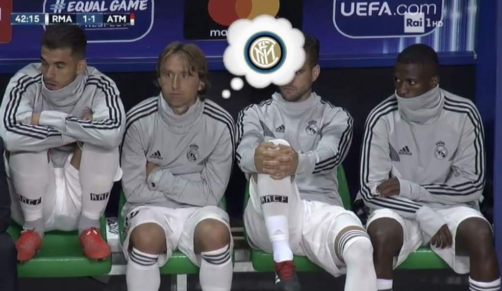 Modric Inter Los Pleyers