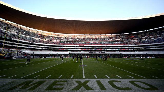 NFL, México, Estadio Azteca, Césped
