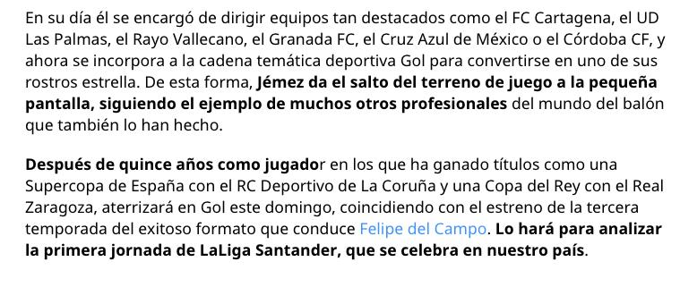 Paco Jémez, exentrenador del Cruz Azul, deja los banquillos tras 11 años para ser comentarista deportivo de la Liga en España