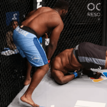 Peleador Rodillazo MMA Video Nocaut Leroy Johnson