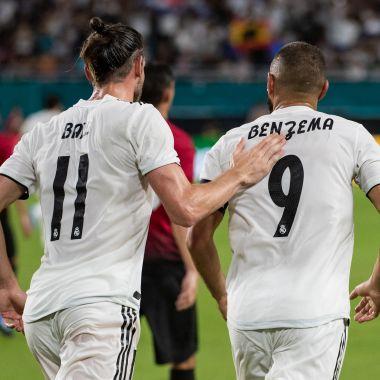 Real Madrid, Delantero, Cristiano Ronaldo, Sustituto