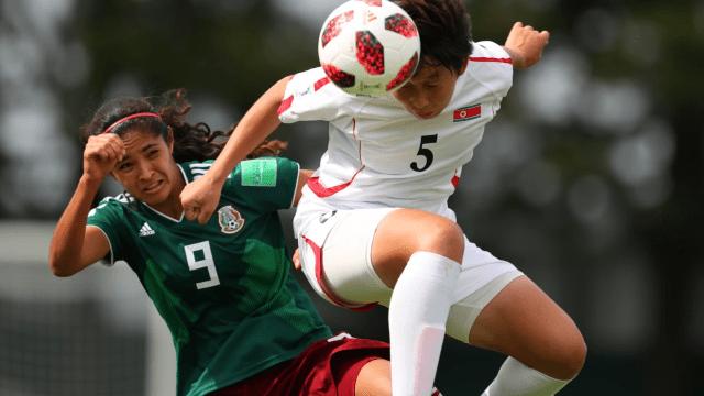 Mexico, Mundial Sub 20 Femenil, Corea del Norte, Goles