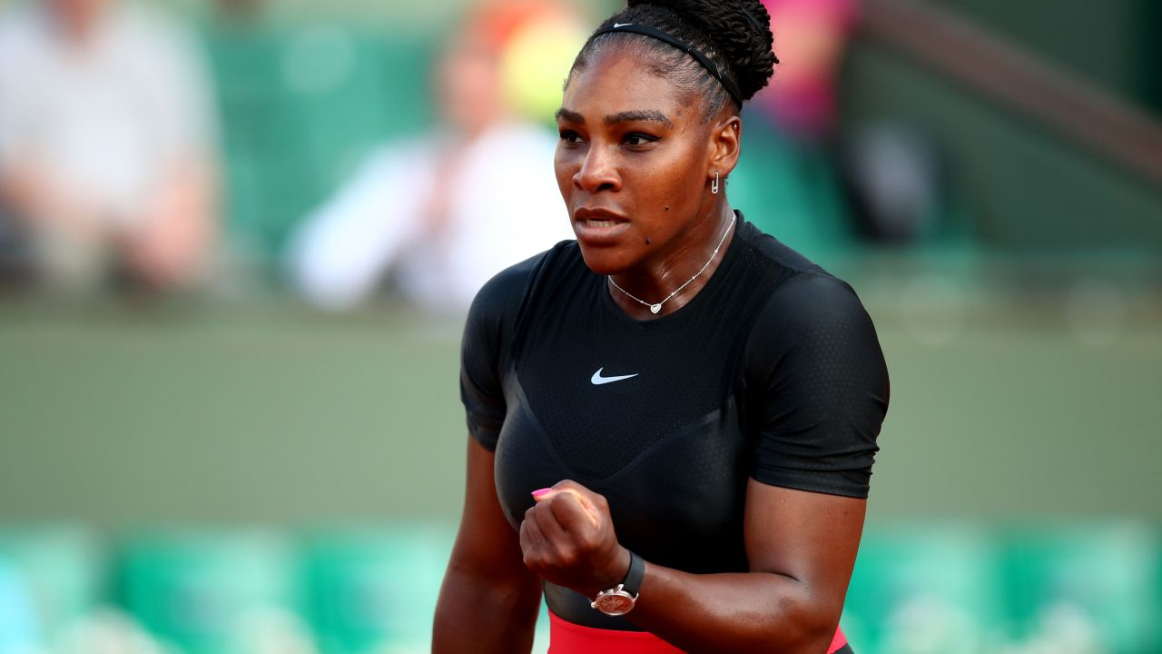Serena Williams, Roland Garros, Vestuario, Francia