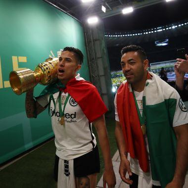 Carlos Salcedo y Marco Fabián se quedan sin Europa League