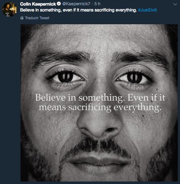 Colin Kaepernick, Nike, NFL, Protesta