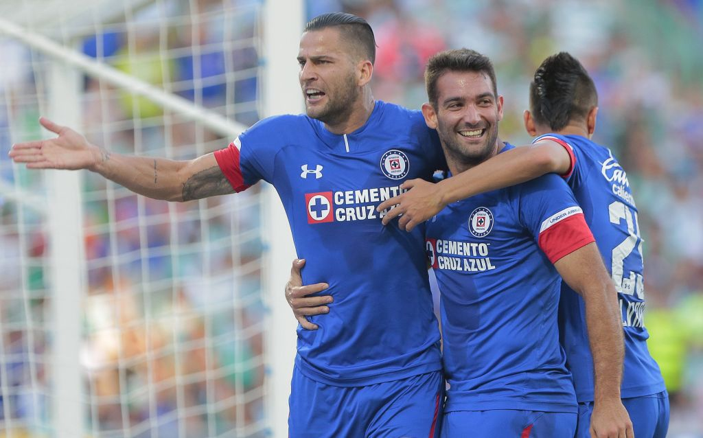 Cruz Azul Martin Cauteruccio Javier Salas Video