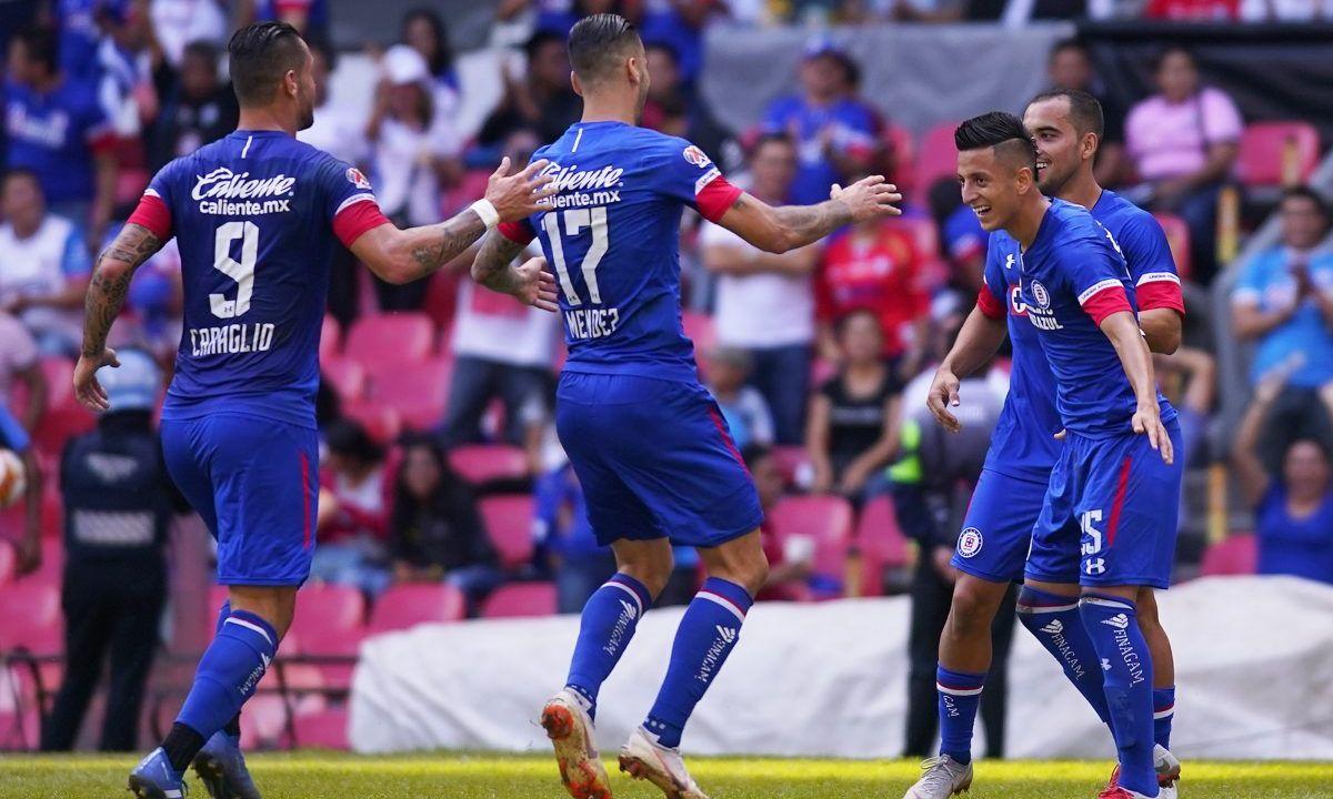 Cruz Azul vs Veracruz Jornada 8 Apertura 2018 Goles Liga MX Goleada