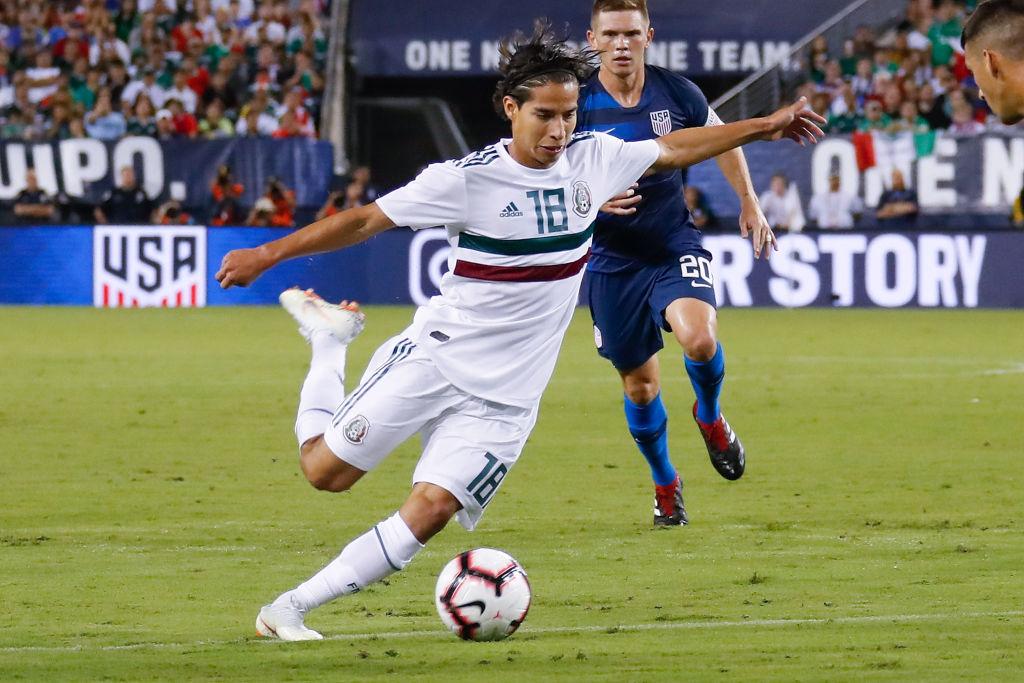 Diego Lainez Selección Mexicana Los Pleyers