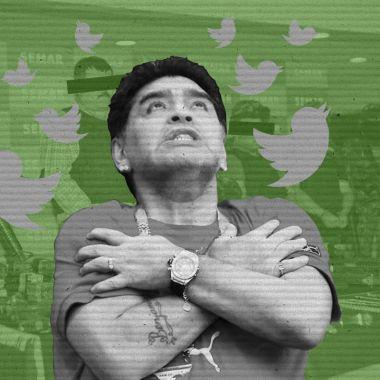 Maradona llega a México y las redes solo hablan de narcotráfico