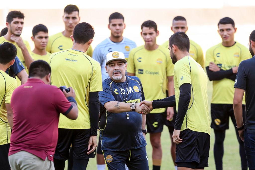 Diego Maradona Entrenamiento Los Pleyers