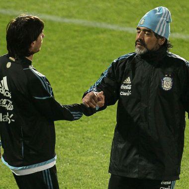 Diego Maradona, Leo Messi, Argentina, Retiro