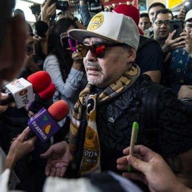 Maradona Cuerpo Técnico Dorados Ascenso MX
