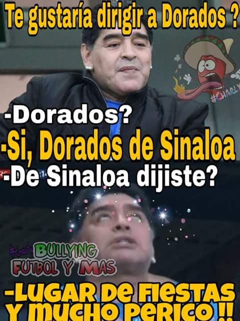 Dorados Maradona Perico Los Pleyers