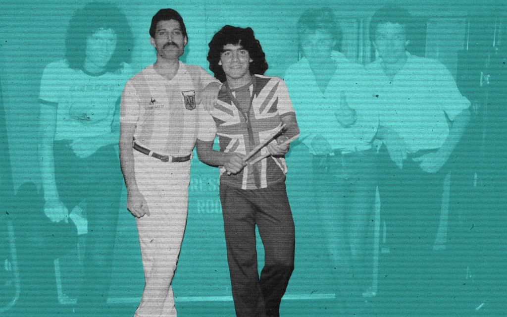 Mercury y Maradona  La tregua en medio de la Guerra 60455192e5e3a
