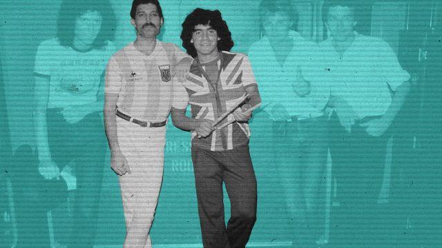 Freddie Mercury, Diego Maradona, Queen, Foto, Los Pleyers
