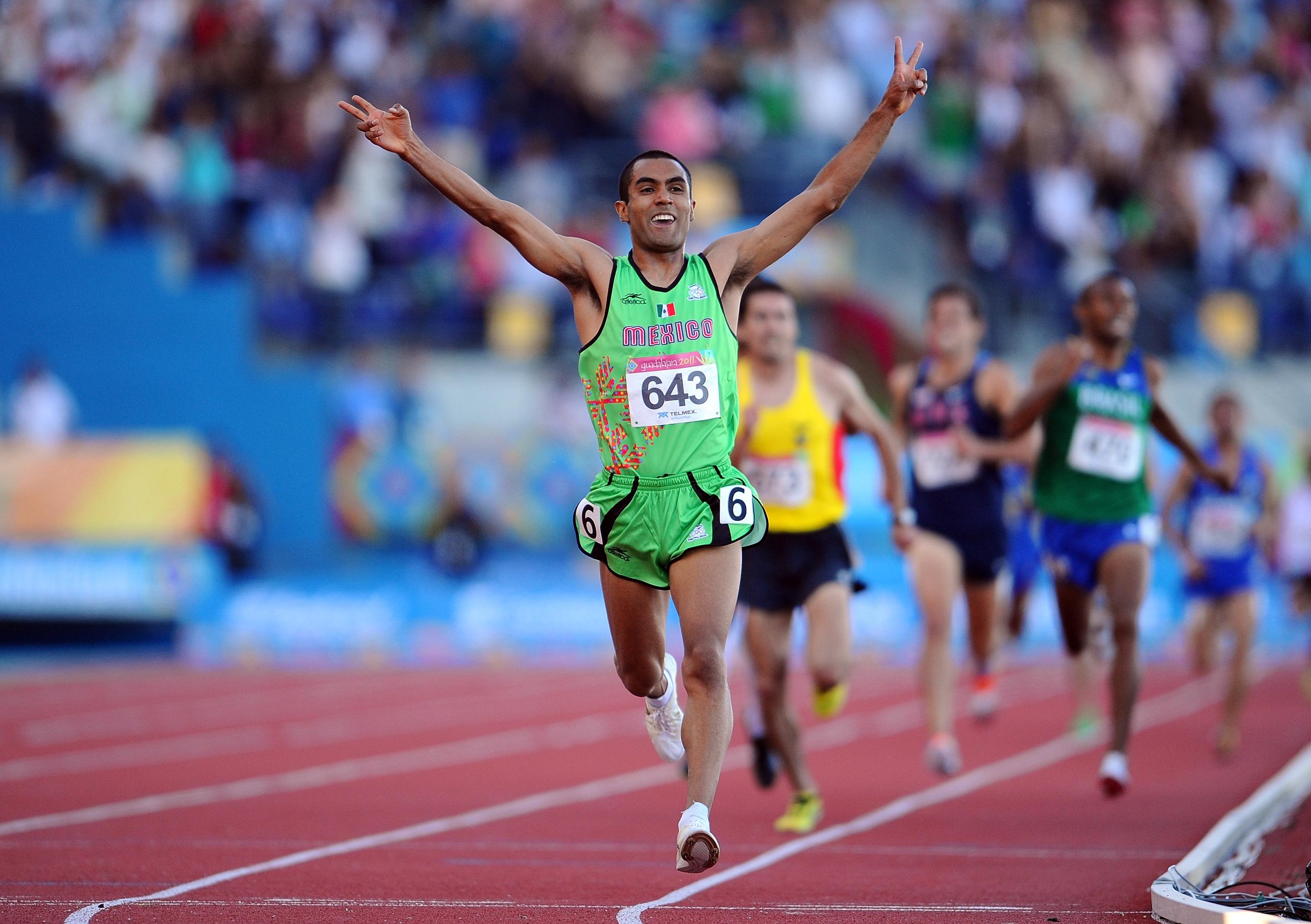 Juan Luis Barrios, Atleta, Corredor, Olímpicos, Medallista, Campeona