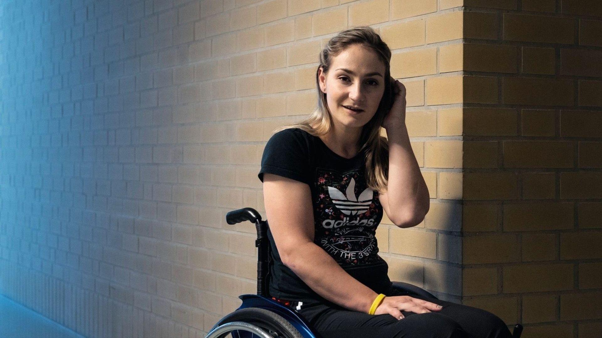 Kristina Vogel, Campeona Olímpica, Parapléjica, Accidente