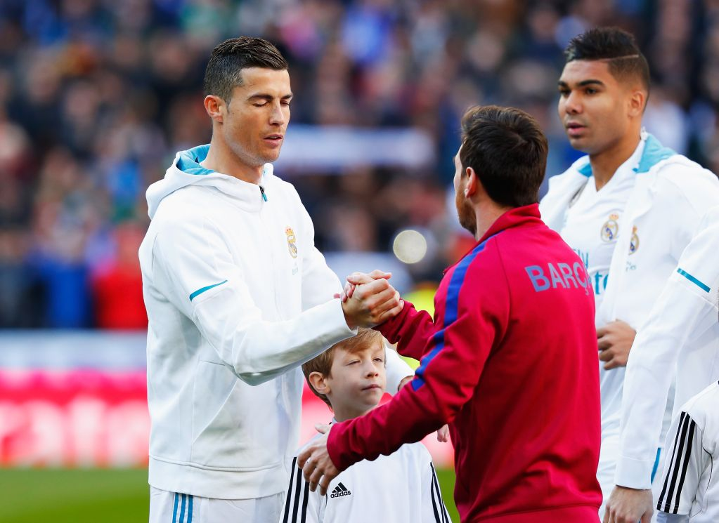 Leo Messi, Cristiano Ronaldo, The Best, Ausencia