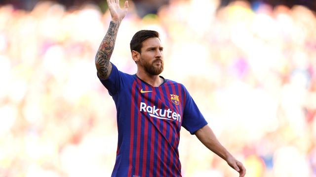 Lionel Messi Huesca Goles Video Los Pleyers