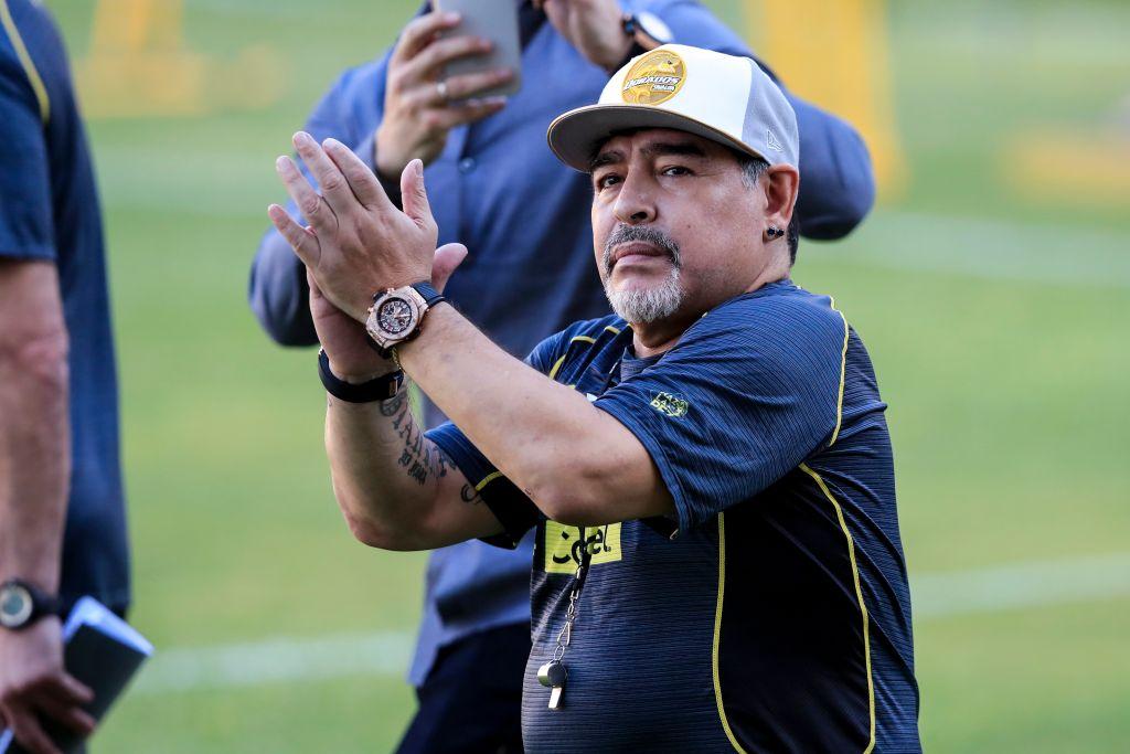 Maradona Culiacán Ciudadano Distinguido Dorados Los Pleyers