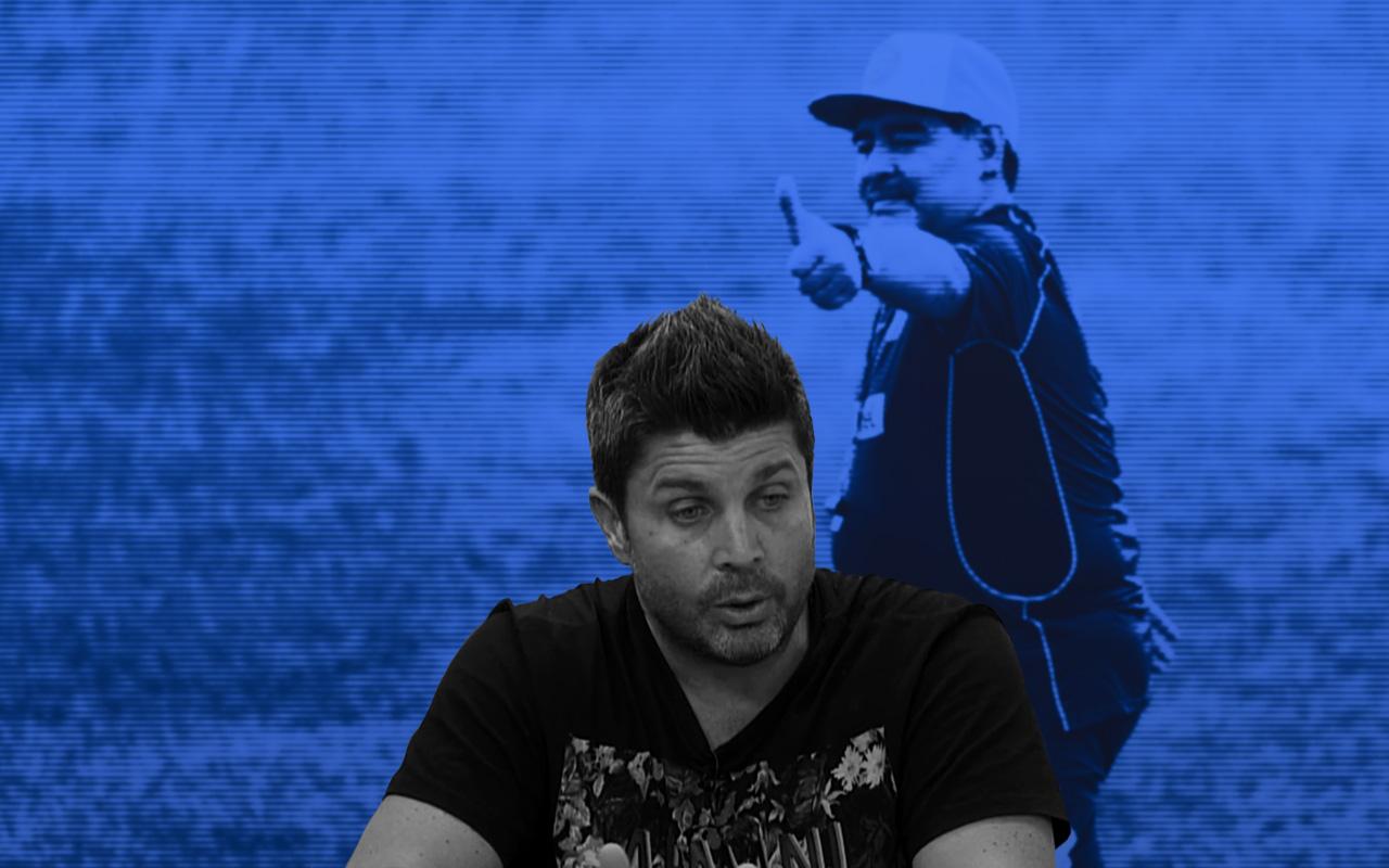 Maradona Portada Agente Dorados Narco México