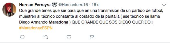 Maradona Transmisión Los Pleyers