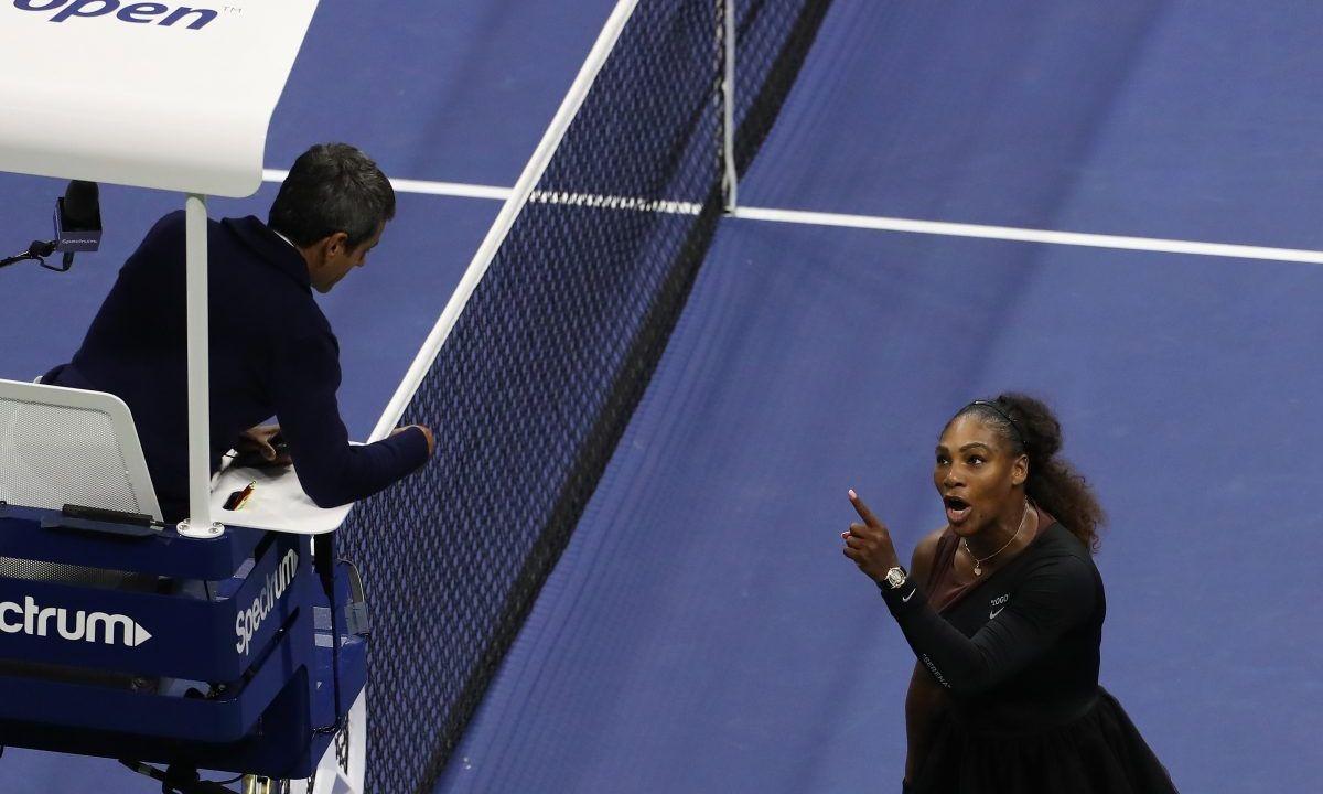 Serena Williams, Multa, Castigo, US Open, Tenis, Machismo