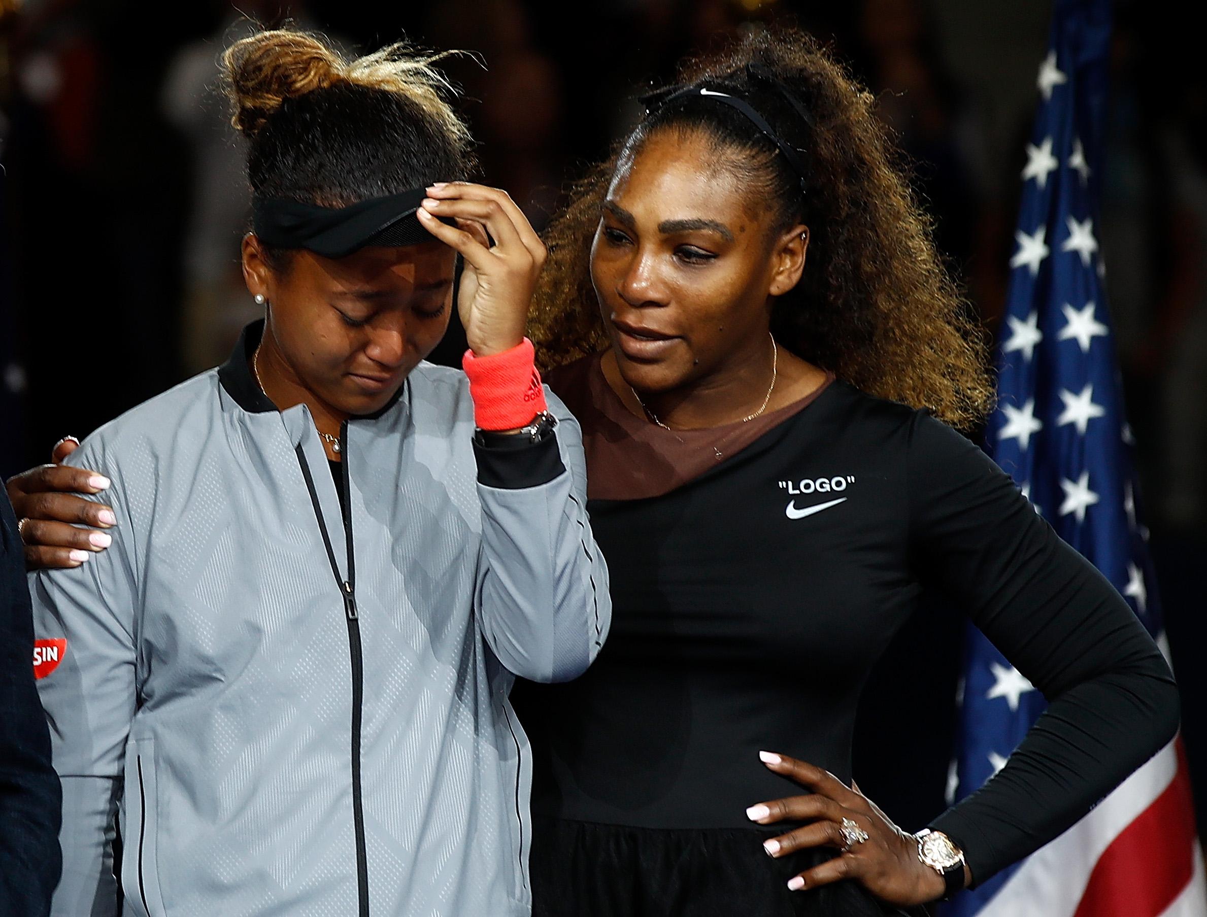 Serena Williams Naomi Osaka US Open 2018