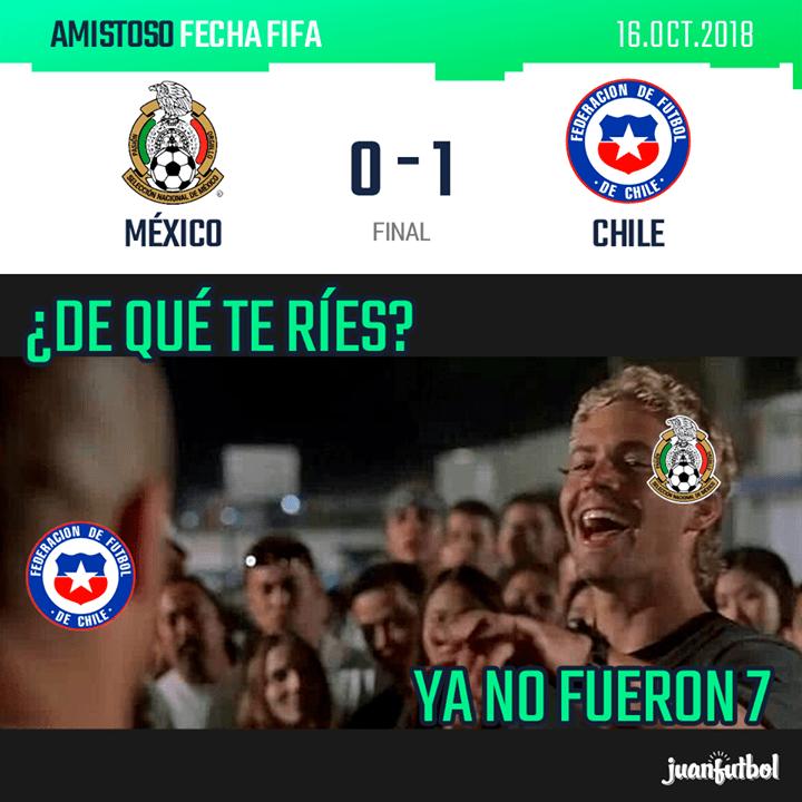 Memes México Chile