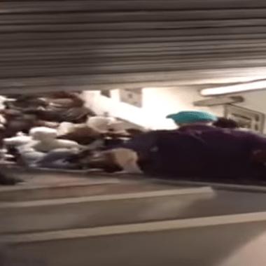 Aficionados Cska Metro Roma Escaleras Eléctricas Video Los Pleyers