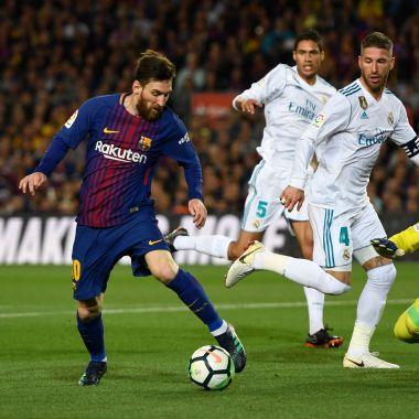 Barcelona Real Madrid El Clásico Hora Los Pleyers