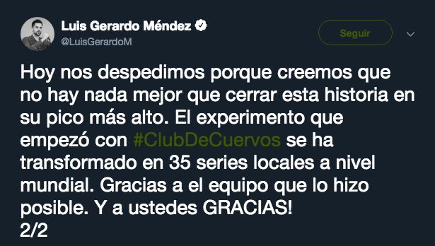 Club de Cuervos, Última, Temporada, Netflix