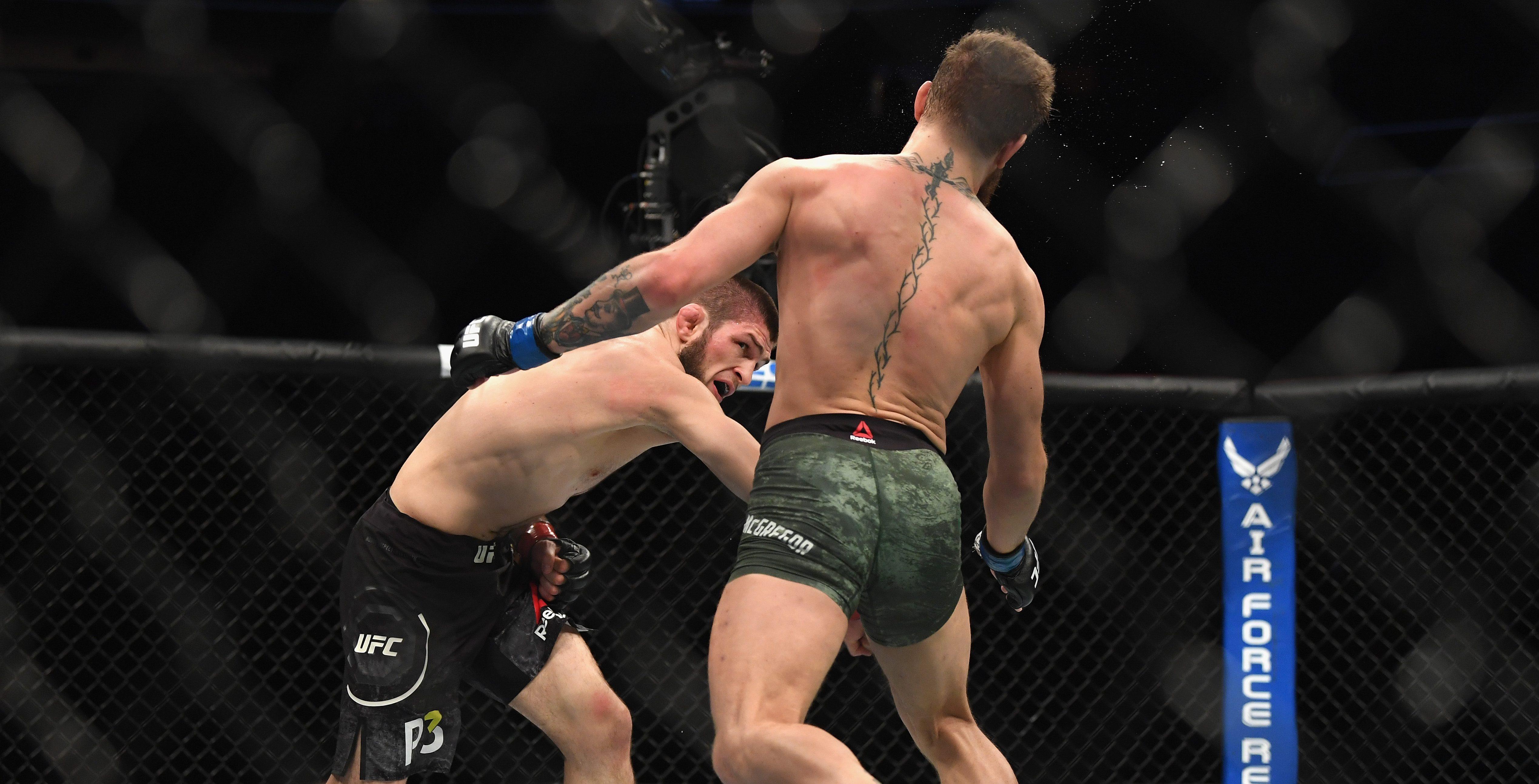 Conor McGregor Khabib Nurmagomedov UFC 229 Ganador Submission