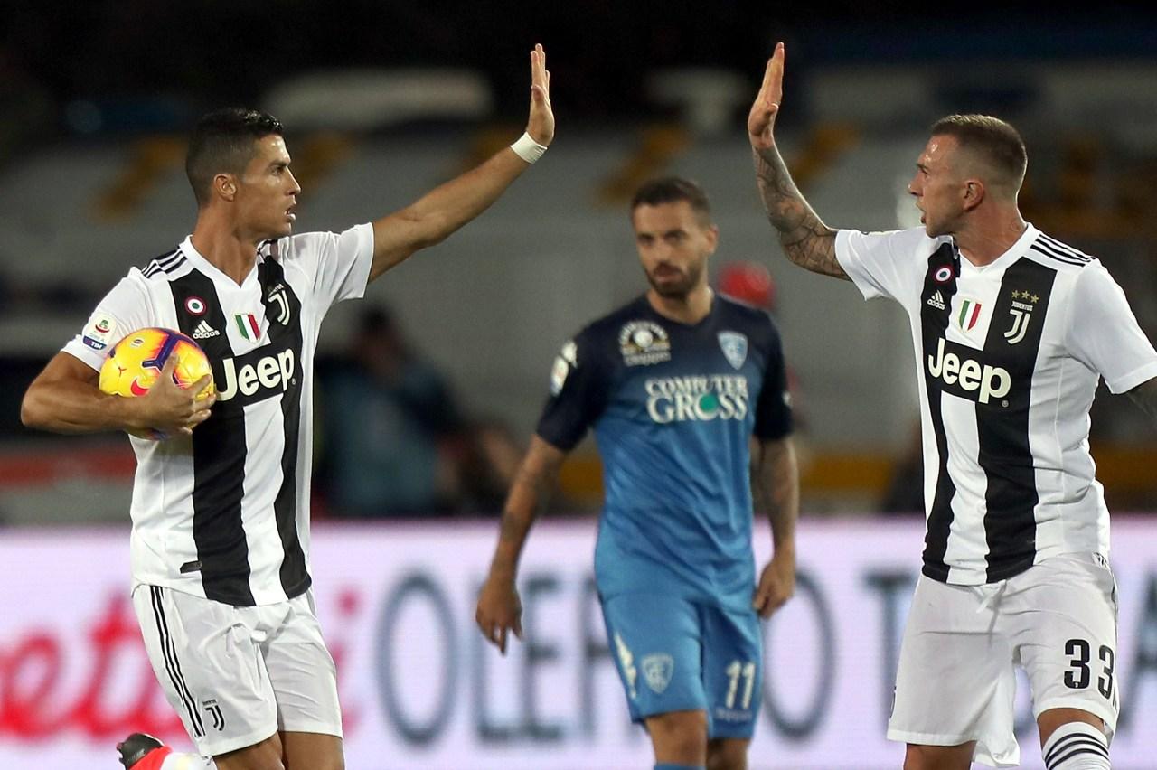 Cristiano Ronaldo, Juventus, Empoli, Goles Los Pleyers