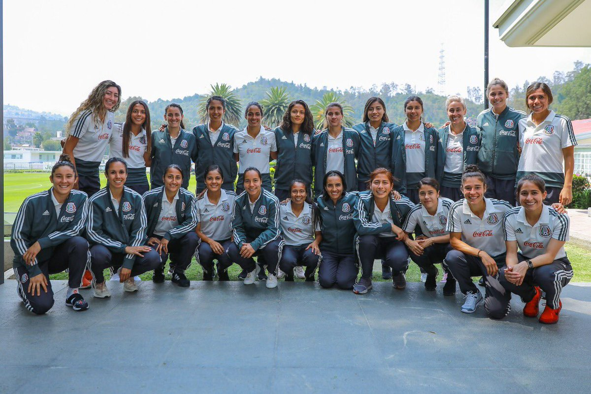 Selección Mexicana Femenil Convocadas Licenciada Premundial