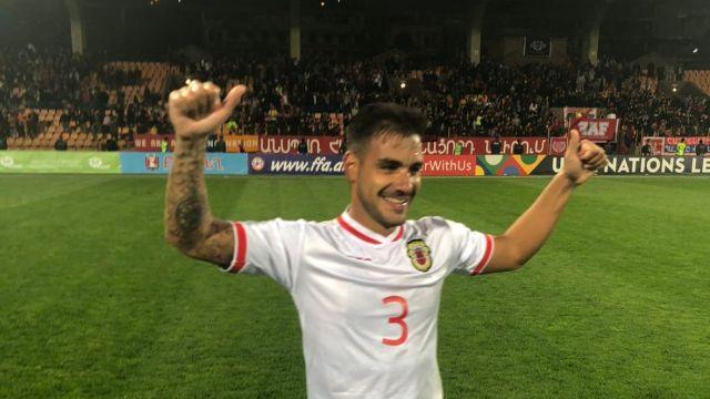 Selección Gibraltar Primer Victoria Armenia UEFA