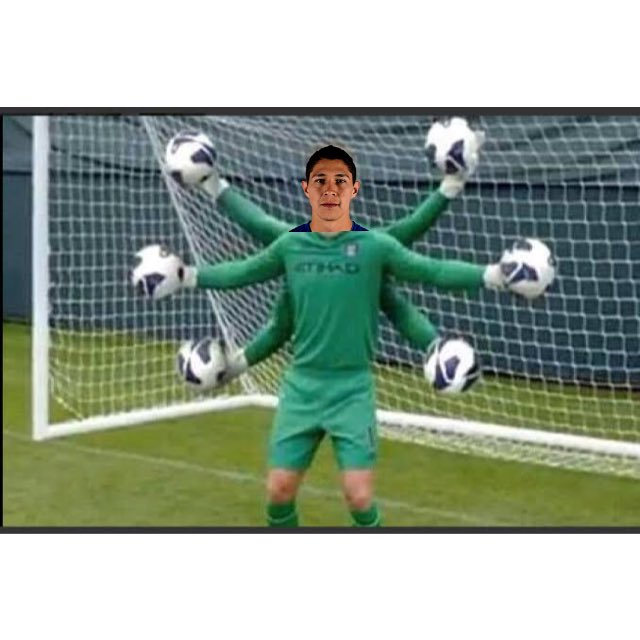 Meme Hugo González Selección