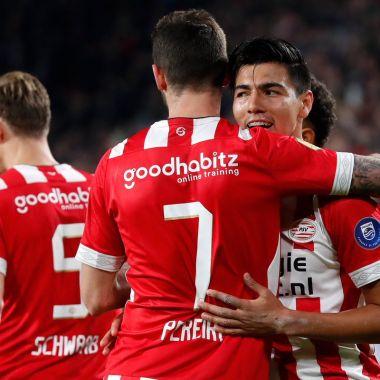 Erick Gutiérrez, Chucky, Goleada, PSV, Emmen