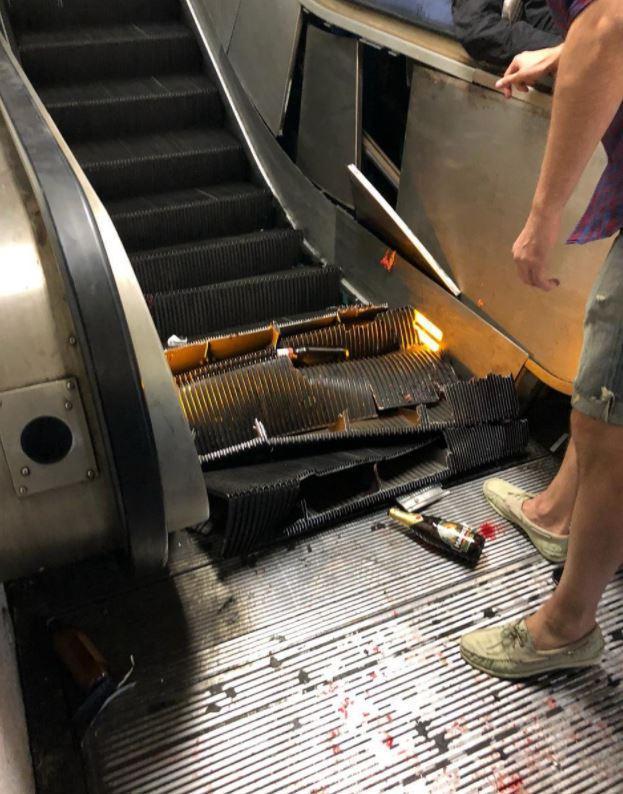 Escalera Eléctrica Roma Los Pleyers