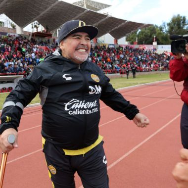¿Maradona entrenador de Xolos para el siguiente torneo?