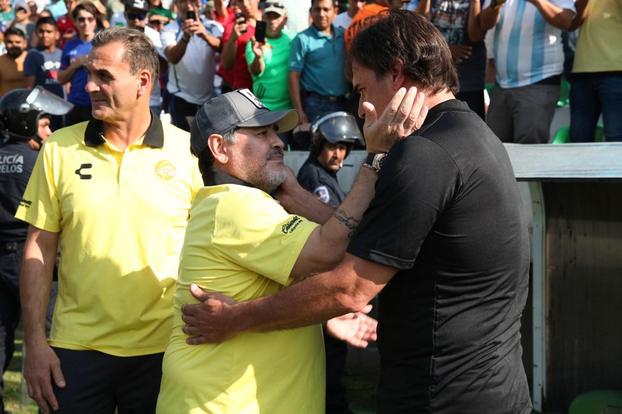 Maradona Ascenso MX Dorados Zacatepec Cronica Maradona Ascenso MX Dorados Zacatepec Cronica